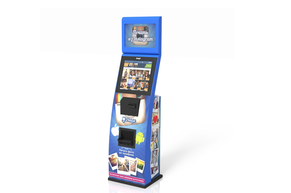 Photojet — автомат для печати фотографий из instagram